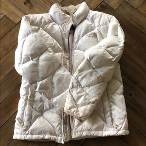 Youth large 550 Down North Face Winter Coat